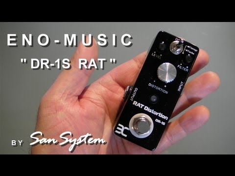 Guitar Effects - ENO MUSIC DR-1S RAT Distortion