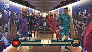VIETNAM vs BARCELONA - Nou Camp - PES19