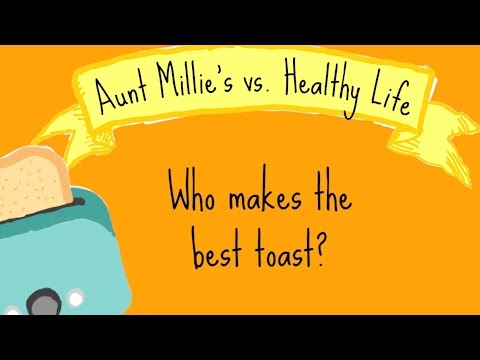 Aunt Millie's vs. Healthy Life: Who Makes the Best Toast?
