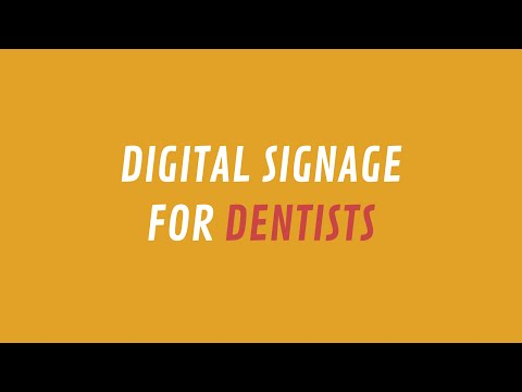 ScreenScape Digital Signage for Dentists