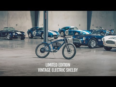 Introducing the Limited Edition Vintage Electric Shelby Bicycle