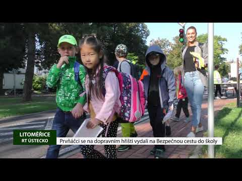 Prvňáčci se na dopravním hřišti vydali na Bezpečnou cestu do školy