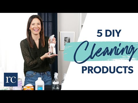 5 DIY Cleaning Products to Save You Money
