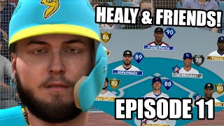 FACING HONUS WAGNER AT POLO GROUNDS! Healy & Friends Episode 11 - MLB The Show 19 Diamond Dynasty