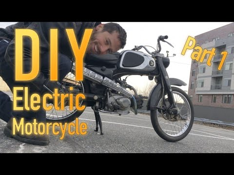 DIY electric motorcycle conversion with 1969 Honda - Part 1: Planning