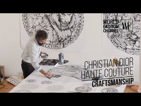 Christian Dior Haute Couture | Craftsmanship | Part 1