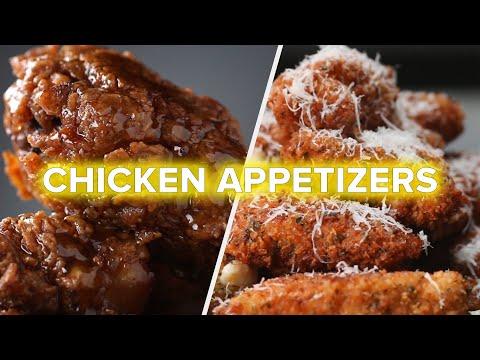 6 Best Savory Chicken Appetizers ?Tasty