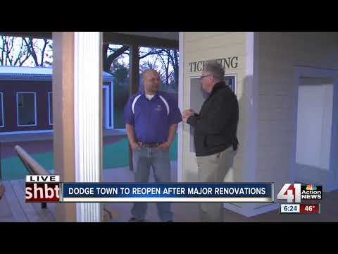 Dodge Town to reopen after major renovations