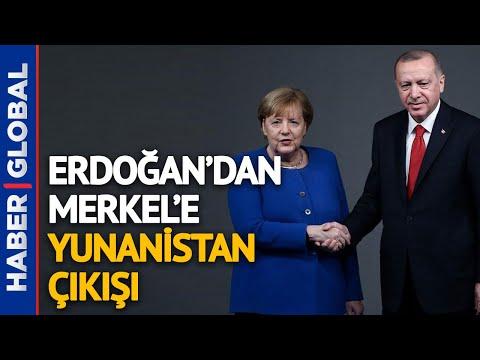 Erdoğan İle Merkel Arasında Kritik Görüşme! Masada Yunanistan, Libya ve Önemli Meseleler Var