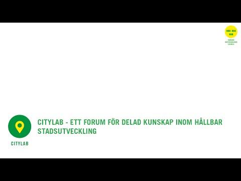 Introduktion till Citylab