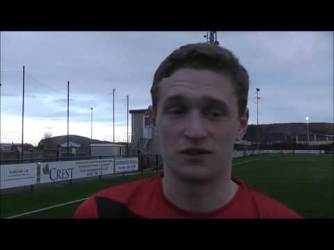 Goal scorer Rushton talking after Llandudno win
