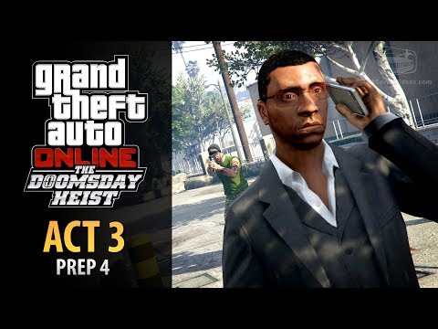 GTA Online: Doomsday Heist Act #3 - Prep: Flight Path (Elite & Mastermind II)