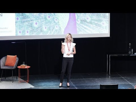 Cristina Paun, Peafowl Solar Power pitch, UIC-dagen 2018
