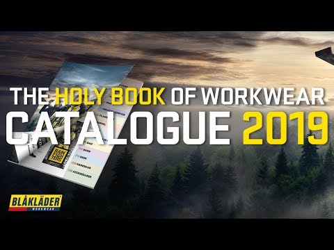 THE CATALOGUE 2019 IS OUT NOW! | Blåkläder Workwear