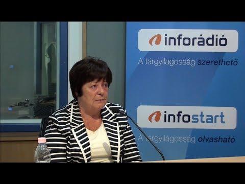 InfoRádió - Aréna - Pálffy Ilona - 2. rész - 2019.10.11.