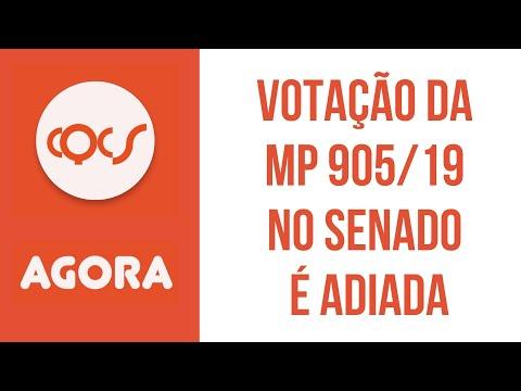 Imagem post: Senado decide adiar votação da MP 905/19