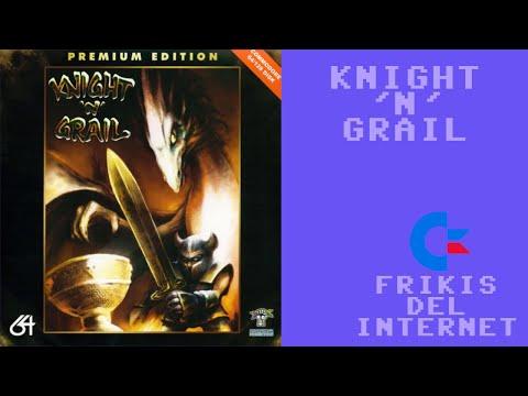 Knight 'n' Grail (c64) - Walkthrough comentado (RTA)