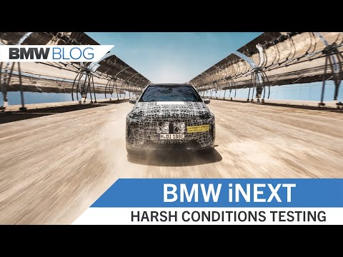 BMW iNEXT: Hot Weather And Harsh Condition Testing