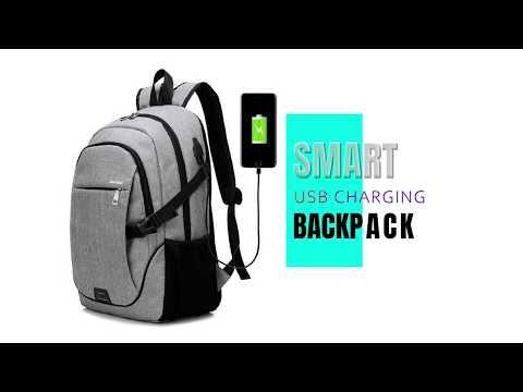 Smart Backpack | Mochila para Laptop USB Charging