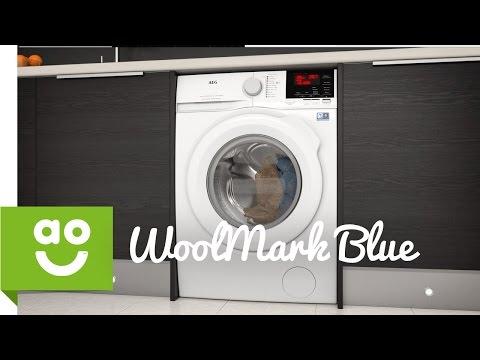 AEG WoolMark Blue   Washing Machines    ao.com