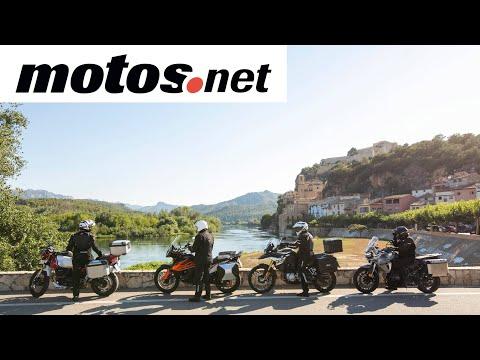 Comparativo trail 800 europeas asfalto / Prueba / Review en español