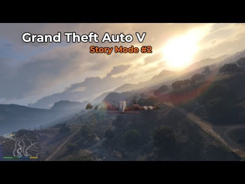 Grand Theft Auto V - Story Mode #2 (Livestream 24/11/2018)