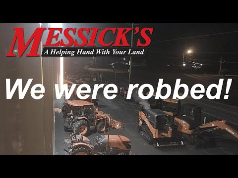 Kubota Theft & Recovery @Messick's Equipment Picture