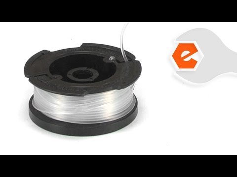 String Trimmer Repair - Installing the Auto-Feed Spool (Black & Decker Part # AF-100)