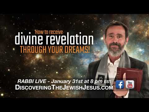 Rabbi LIVE - How to Receive Divine Revelation Through Your Dreams!