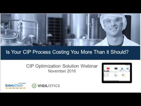 SafetyChain Webinar: Is Your CIP Process Costing You More Than it Should?