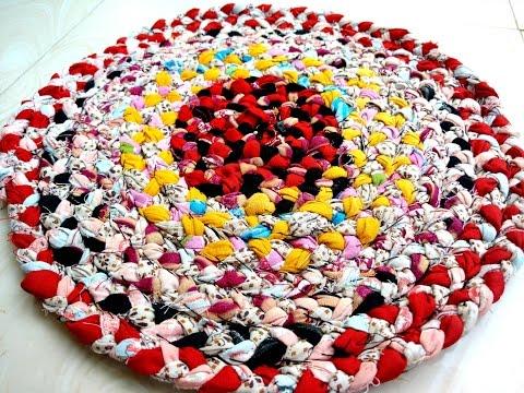 Handmade Doormat with Old Clothes - UCKy1dAqELo0zrOtPkf0eTMw