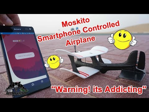 This Smartphone App Controlled Moskito Plane will get you hooked - UCsFctXdFnbeoKpLefdEloEQ