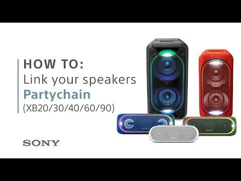 How to: connect your EXTRA BASS™ speakers with Wireless Party Chain