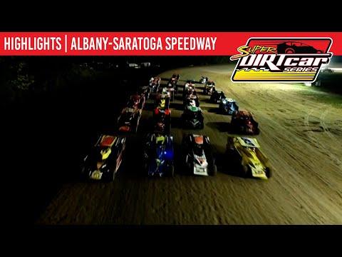 Super DIRTcar Series Big Block Modifieds Albany-Saratoga Speedway September 25, 2021   HIGHLIGHTS - dirt track racing video image