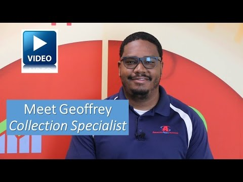 Meet Geoffrey-Collection Specialist at American Profit Recovery