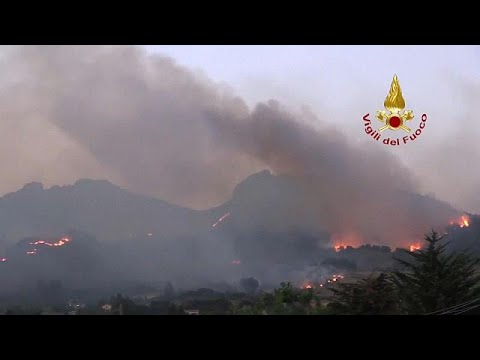 `Married couple among dead as wildfires rage in Turkey and Italy