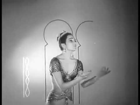 Gabriela Komleva. Adagio from Bayadere