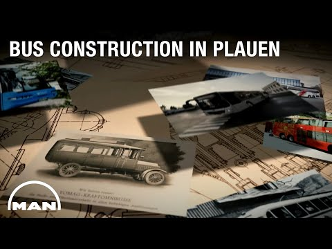 100 Years of bus construction in Plauen