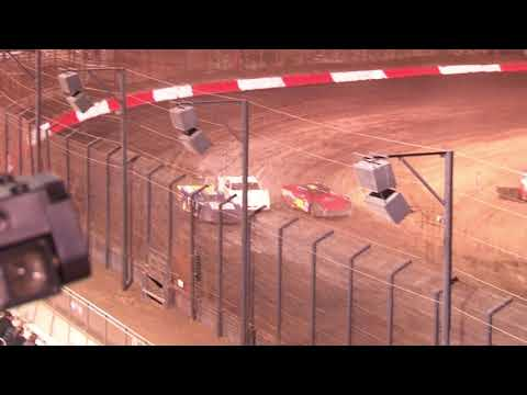 Super Stock Main Event 10-16-21 Perris Auto Speedway - dirt track racing video image