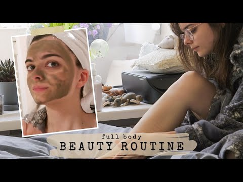 Video: My Full Weekend Beauty Routine 🧖🏻♀️ Head To Toe Beauty Routine