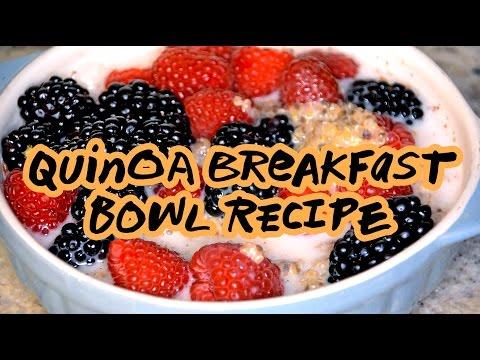 Healthy Quinoa Breakfast Bowl | Nuts.com