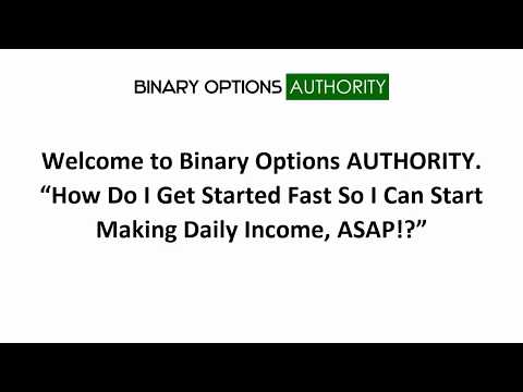 Binary Options AUTHORIY   How Can I Make Money in Binary Options Fast Introduction