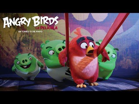 ANGRY BIRDS LA PELÍCULA. La mayor aventura de la temporada. En cines 13 de mayo