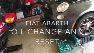 Come cambiare olio e filtro su Fiat 500 Abarth