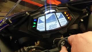Reset service olio Yamaha YZF R 125