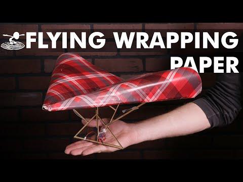Epic DIY Wrapping Paper Plane - UC9zTuyWffK9ckEz1216noAw