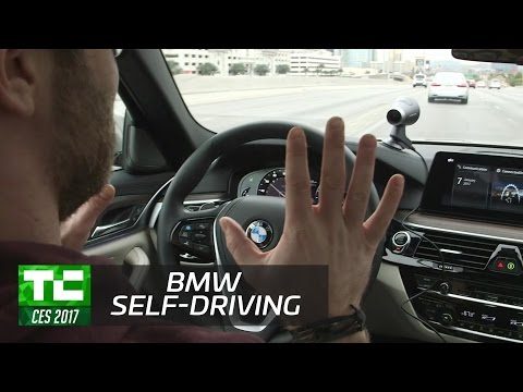 BMW's 5 series prototype with Personal Co-Pilot