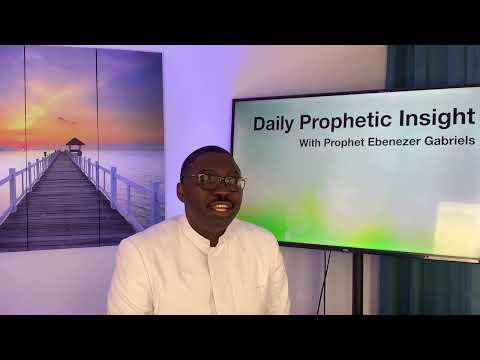 Prophetic Insight Apr 25th, 2021