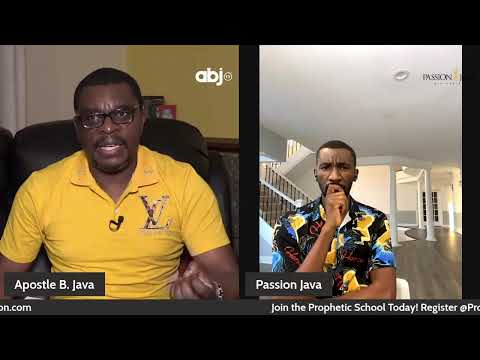 The Prophetic Realm- Part 2- With Apostle B Java and Prophet Passion