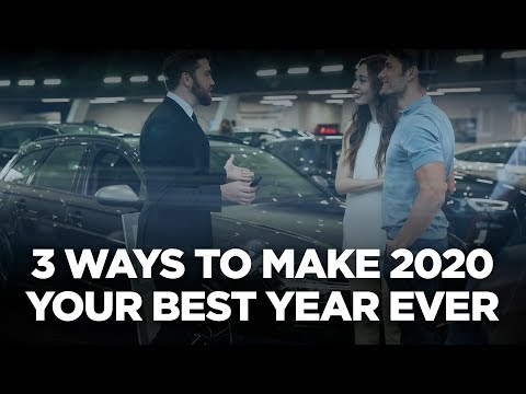 10X Automotive Weekly - 3 Ways to Make 2020 Your Best Year Ever photo